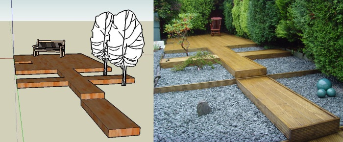 Using Google SketchUp for garden design netkingcol