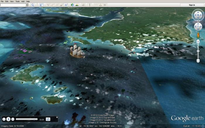 Cape York on 21Aug1770
