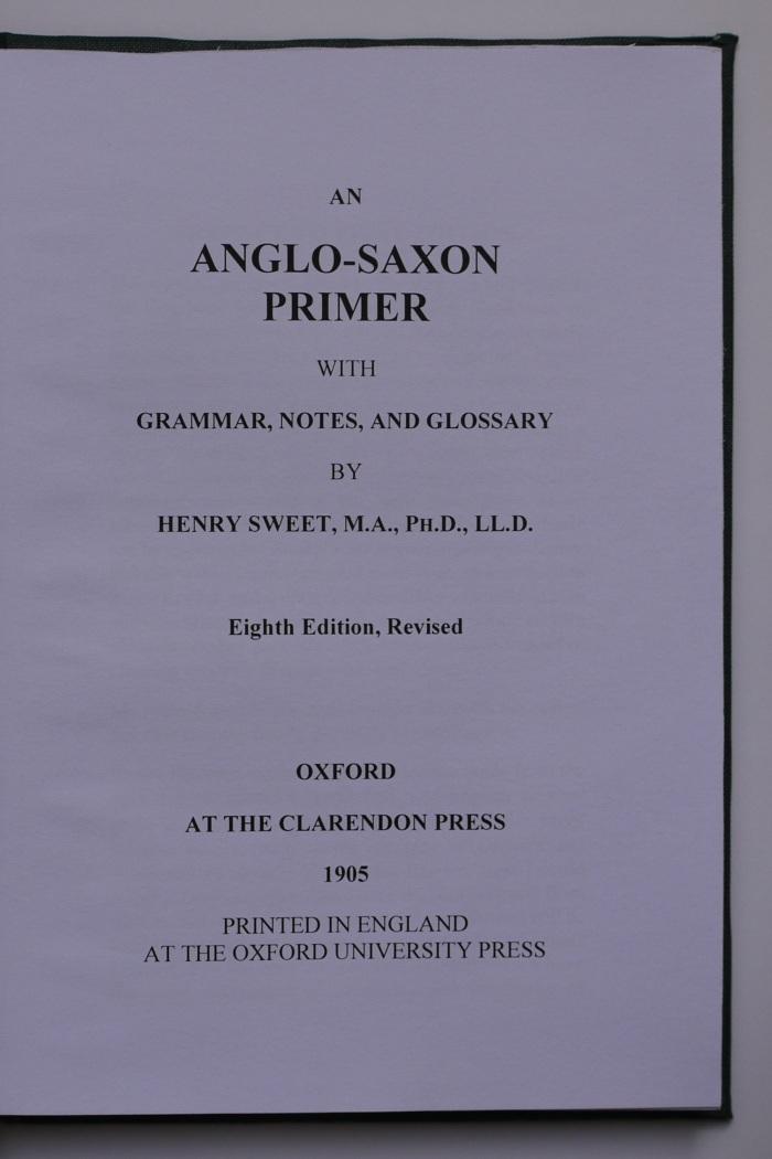 AngloSaxonPrimer