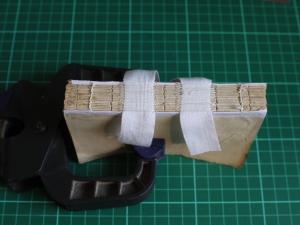 the sewn textblock